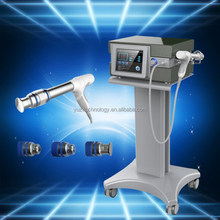 Vertical Foot pain physiotherapy equipment shockwave machine / electric shock wave / Extracorporeal wave therapy equipment
