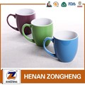 11oz stoneware color glazed belly mug for child from china