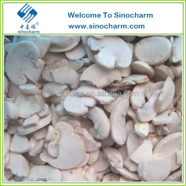 New Crop IQF Champignon Mushroom Slices