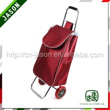 foldable shopping cart laptop trolley bag with chair with cooler bag