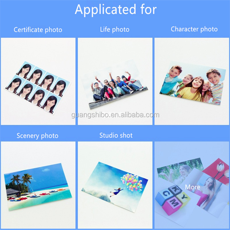 Waterproof 260gsm A4 RC Glossy Photo Paper