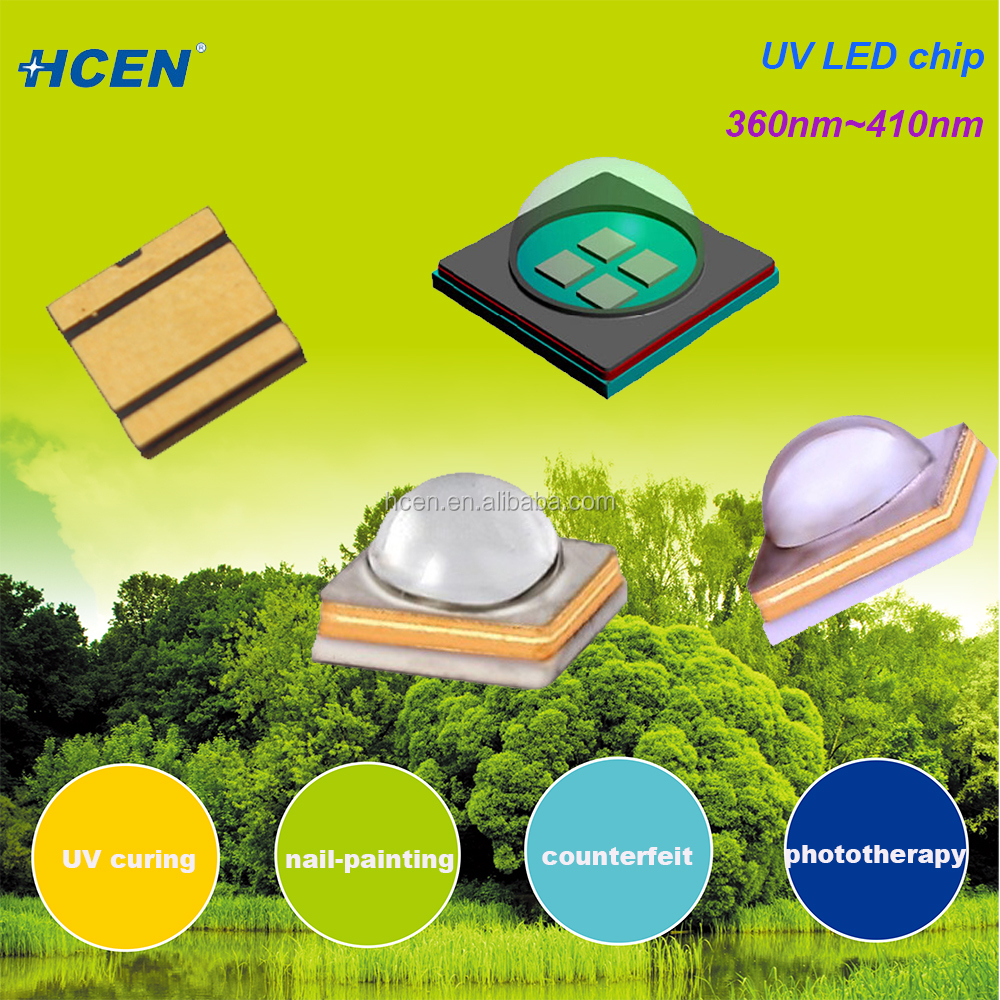 Factory price 365nm 395nm uv led for curing