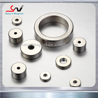 Very cheap strong high quality in stock permanent neodymium shape magnet