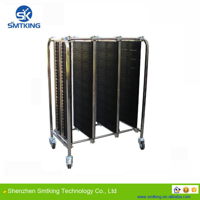 Antistatic PCB cart for PC board/ ESD storage cart