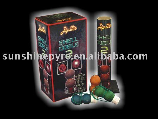 2 inch double aerial shells fireworks