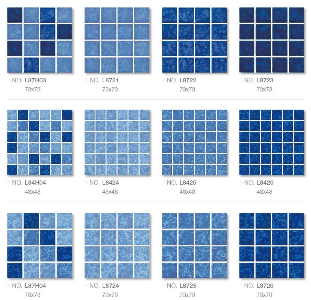 Ceramic Mosaic Tile For Pool Blue Mosaic Tile Wholesale Cheap Swimming Pool Tile Buy Cheap