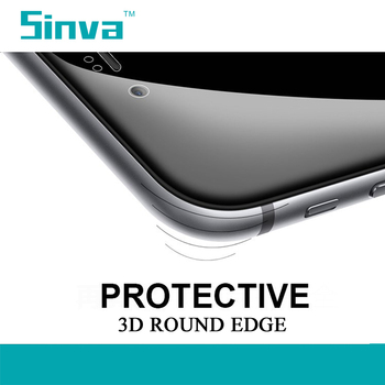 Sinva factory 9H Hot Bending full cover otao 3d curved full cover tempered glass screen protector for Iphone 6s plus