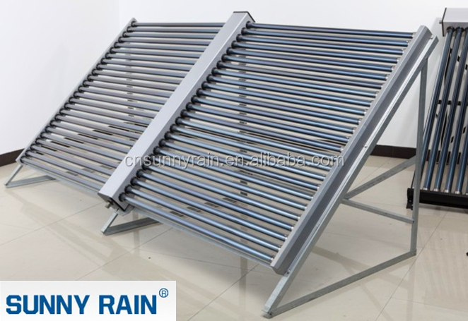 Sunnyrain horizontal vacuum tube solar collector for solar hot water