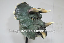 hot selling latex full head king mask pretty vivid rubber dragon mask for 2013 world cup