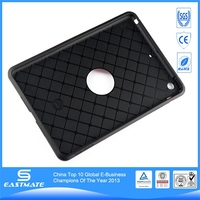 TPU hard tank style plain tpu case for ipad mini cover