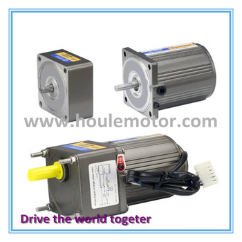 HOULE 40W reversible gear motor with gearbox small induction motors AC gear motor