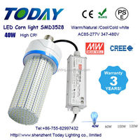 4000 lumen led bulb light 40 watt led corn light e27