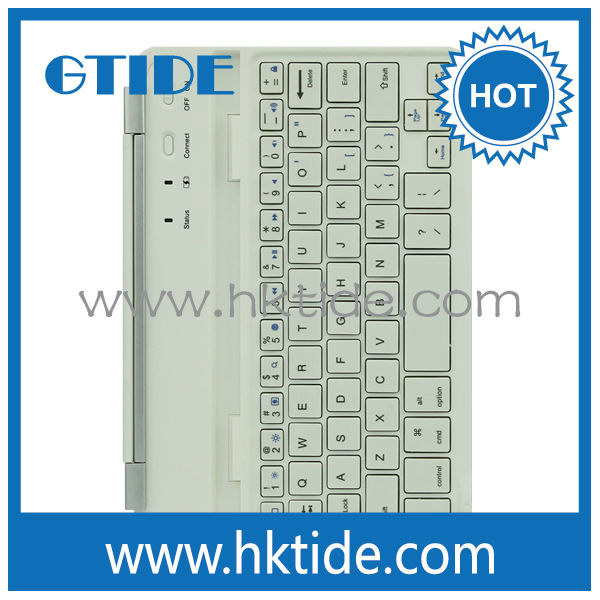 2014 Gtide new design lifeproof mini bluetooth keyboard for apple ipad mini