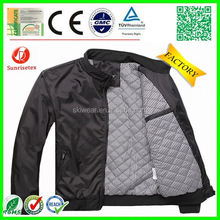 Popular New Style denim jacket leather sleev Factory