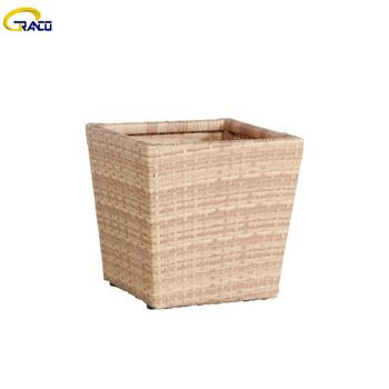 Wholesale outdoor and indoor wicker planter flower pot