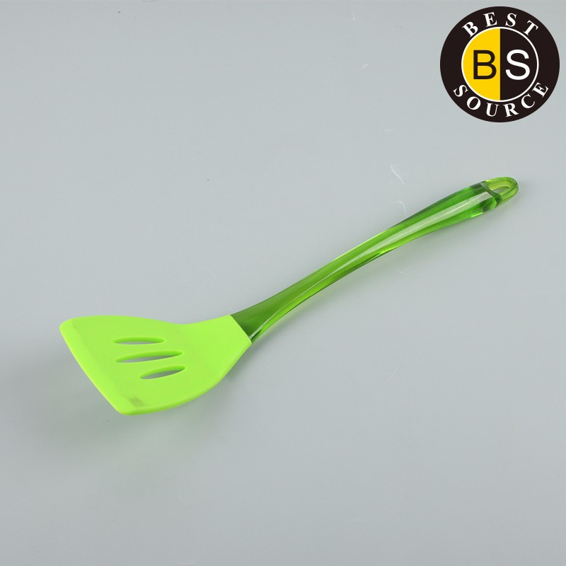 Cooking Tools Kitchen Utensil Slotted Silicone Turner 22569-8