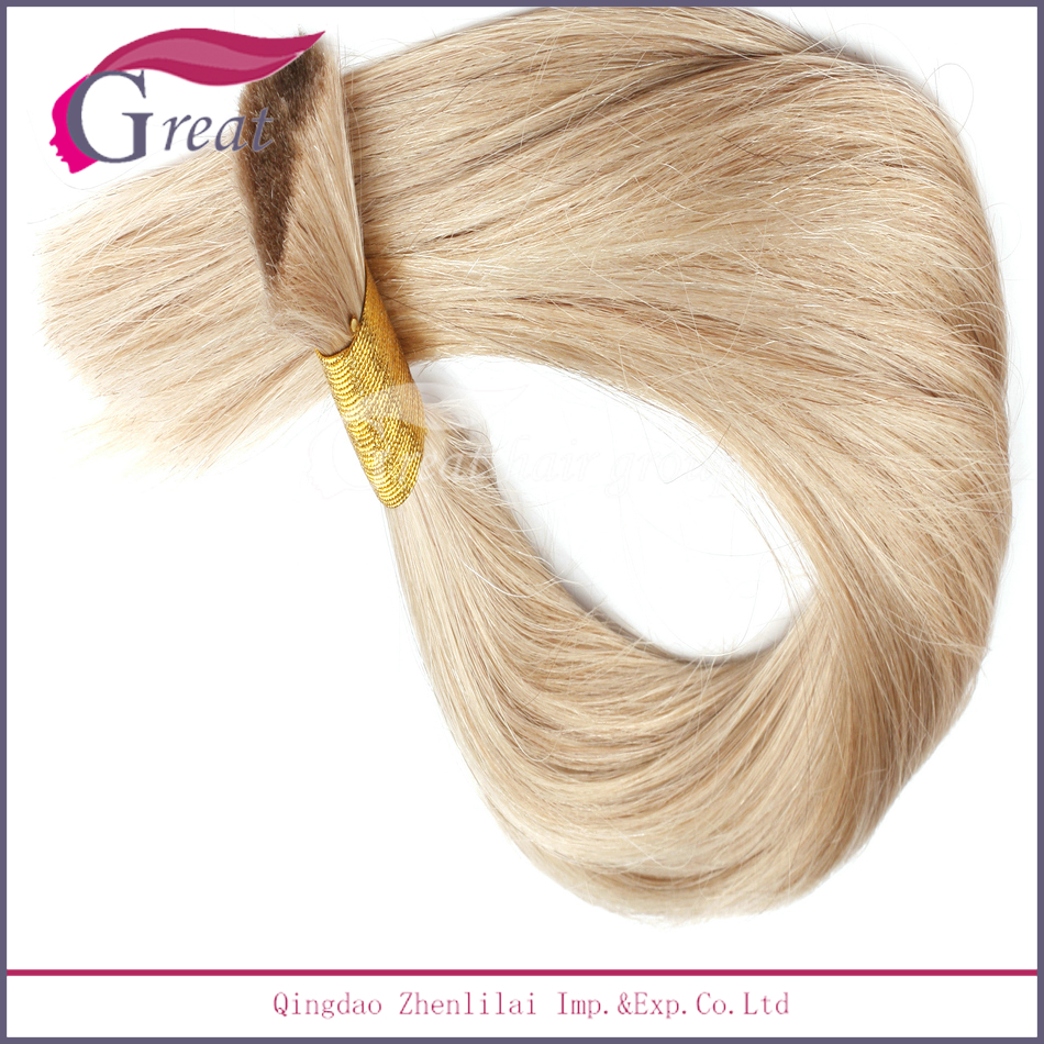 plastic packaging for hair extensions