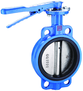 Butterfly valves, wafer/gear type butterfly