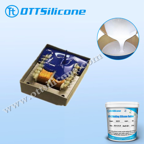 Low viscosity rtv 2 silicone rubber for LED module
