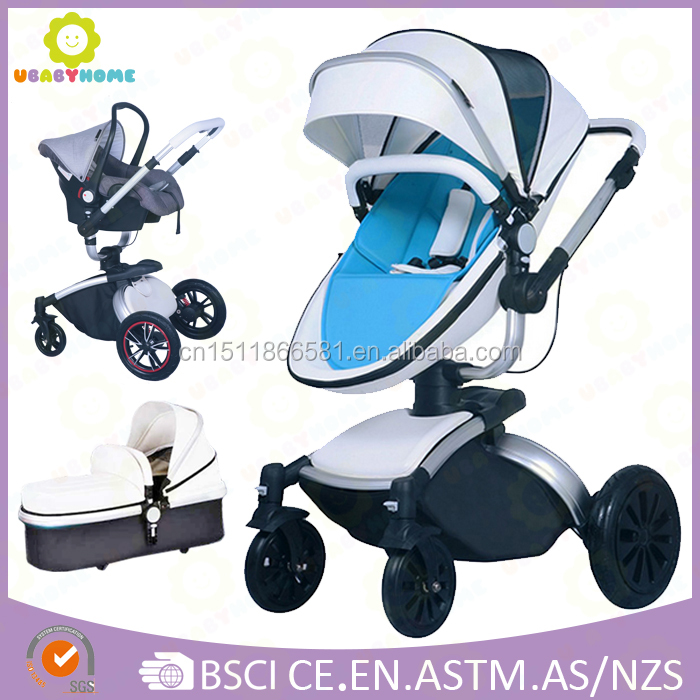 360 Degree free Rotation Baby Stroller/3 In 1 high landscape baby doll pram