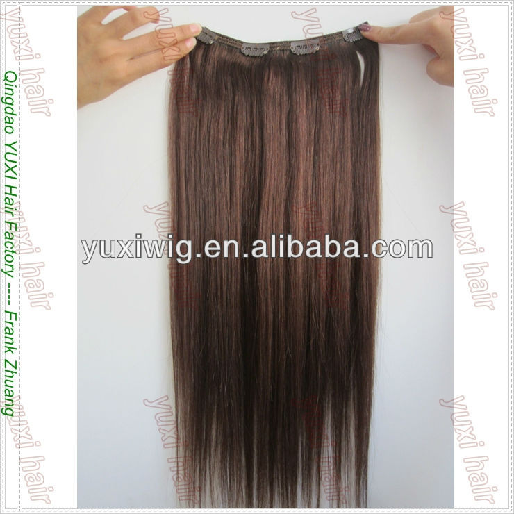 Hot selling clip in hair plastic clip for hair extension
