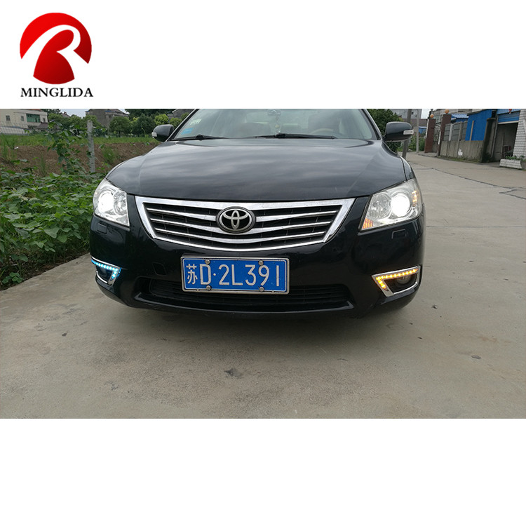 Professional daylight led lights drl front bumper light lamp for camry 2011 2010 2009 made in China