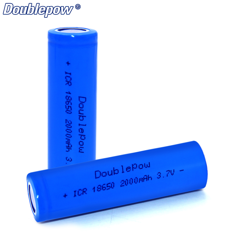 High discharge rate 5c 10A 2000mah current 3.7v 7.4wh li ion 18650 battery for electric bicycle