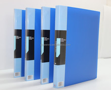 A4 PP pocket plastic clear display book