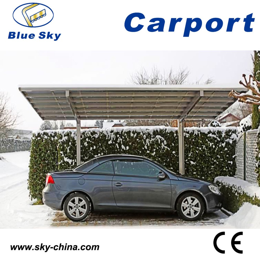 Outdoor aluminum car shed awning for cars carport view for Toldos prefabricados