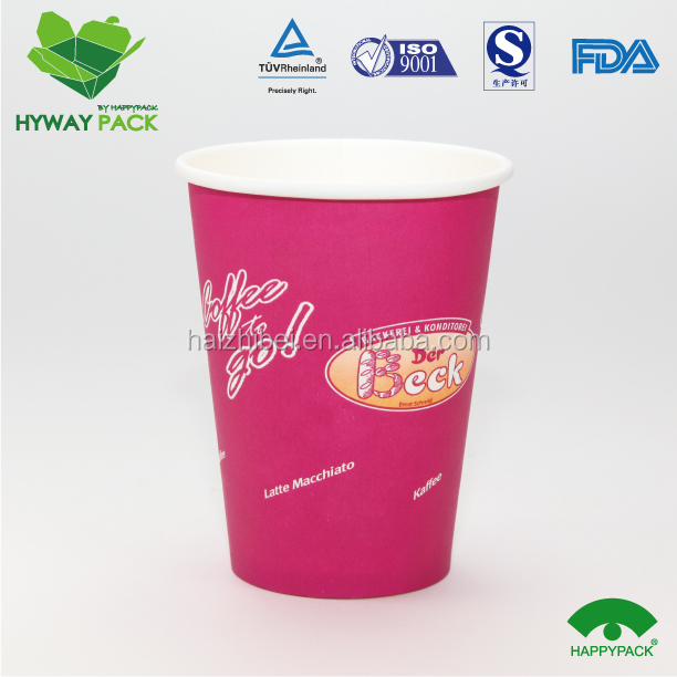 Well Finished And Durable To Use Disposable Paper Coffee Cup