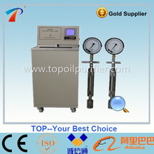 Petroleum Products/Transformer Oil Saturated Vapor Pressure Tester (Reid Method)