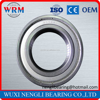 High Performance Low Noise Stainless Steel Deep Groove Ball Bearing for Pipe Conveyor 6014