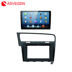 High Quality Car Stereo Radio Fascia Panel for 2013 Volkswagen Gole 7 Trim Kit Instal Frame Bezel