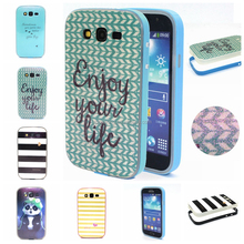 New Designed bumper case skin cover for Samsung Galaxy S3, Sparkling case for Samsung i9300