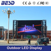 HD outdoor P8 rental advertising led display sign