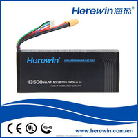 Wholesale 13500mAh 10C 205.2Wh 15.2V high voltage lithium rechargeable battery for UAV/Drone