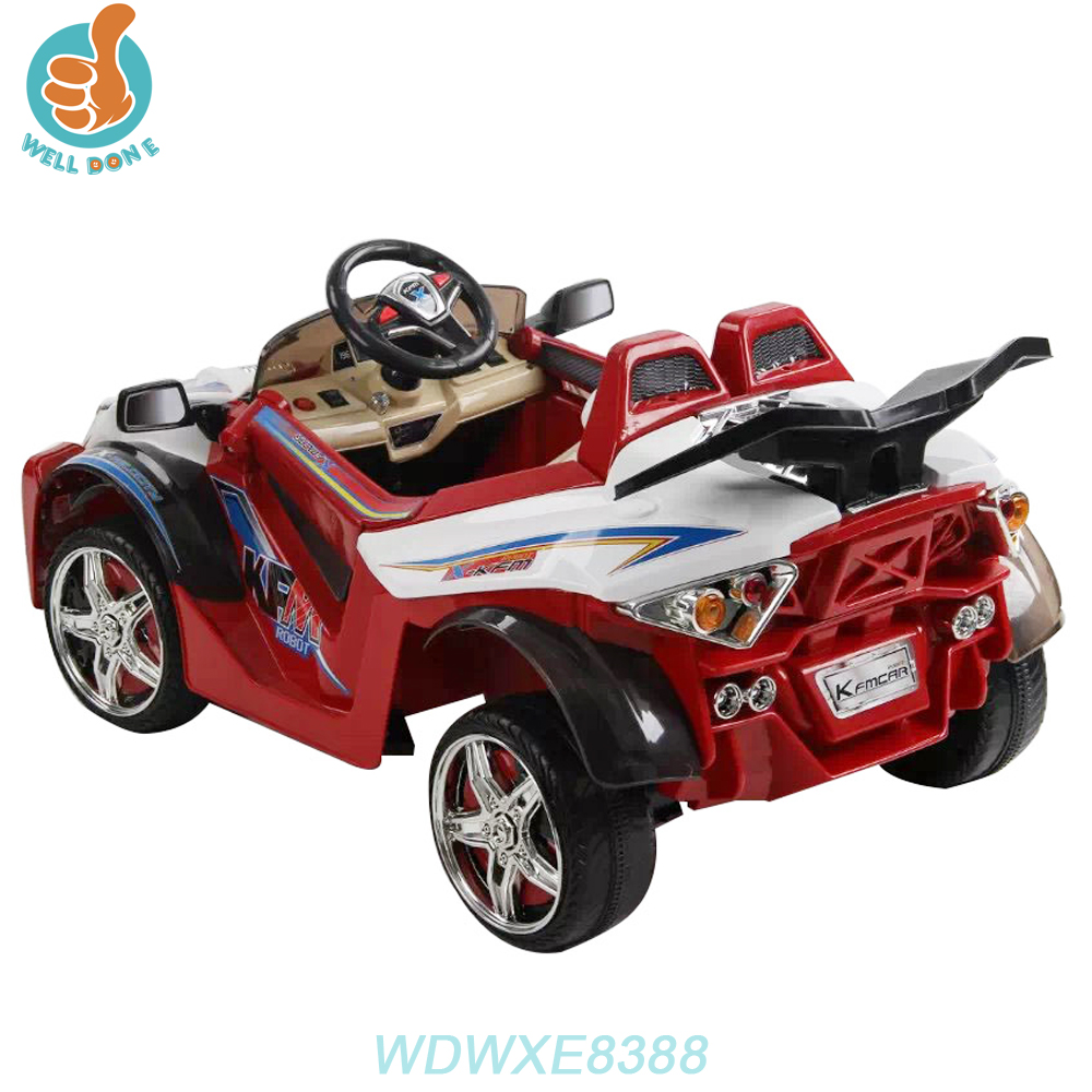 WDWXE8388 2017 Cool Design Batman Electric Car For Kids Sport Cart Ride On Car Toy
