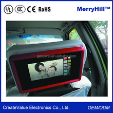 WIFI Android Digital Signage Software 10 inch 10.4 inch 12 inch 13 inch Back Seat TV For Car