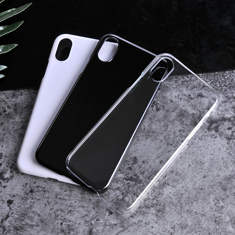 China Manufacturer Glossy PC 3D Sublimation Case Blank For IPhone 6 7 8 X
