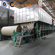 1092 model 5TPD Kraft paper making machine low price high performance paper making machine