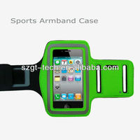 2013 hot selling sports Armband for iPod with Key hole