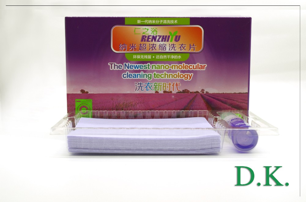 Wholesale household washing paper laundry sheets made in china