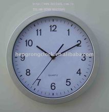 plastic wall clock with environmental friendly material simple wall clock
