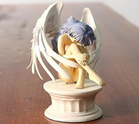 Nude Japanese anime angel polyresin angel figurine