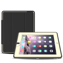 Stand Leather Fundas Case For iPad 2 3 4 With Magnetic Flip Cover