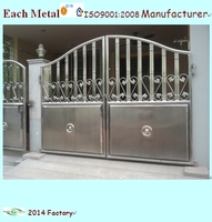 hot sale stainless steel main gate design for homes