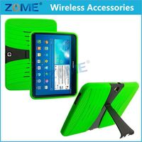 Alibaba China Shockproof Hybrid Case For Samsung Tablet Galaxy Tab 3 10.1 with Built In I Kickstand Protective Cover