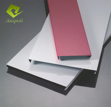 C-style Aluminum strip shape ceiling tiles for decorative design