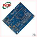 Multilayer pcb board with blue solder mask