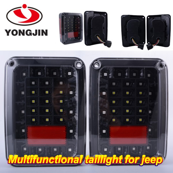 For US Jeep Wrangler JK LED Brake Tail Lights Rear Signal Reverse Lamps/jeep wrangler for sale